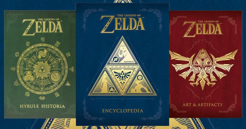 Zelda Enciclopedia llega a USA en Abril de 2018