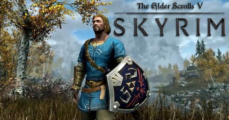 Link en The Elder Scrolls V: Skyrim