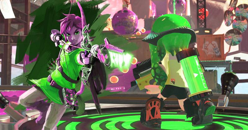 FanArt: Zelda en Splatoon 2