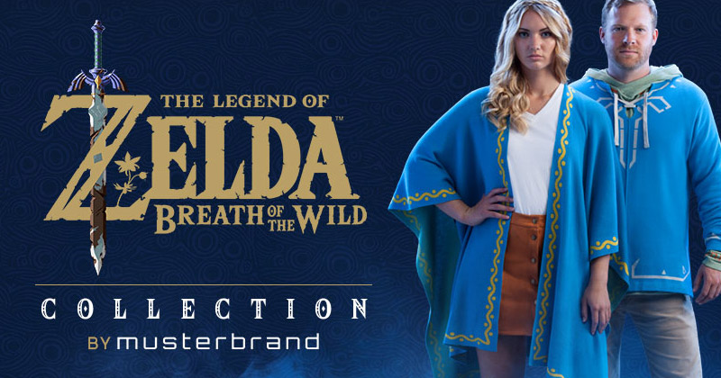Colección Breath of the Wild de Musterbrand