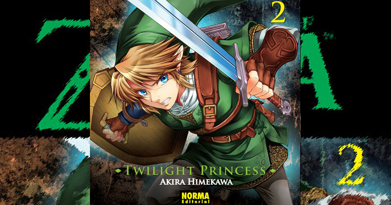 Ya disponible el segundo manga de Twilight Princess