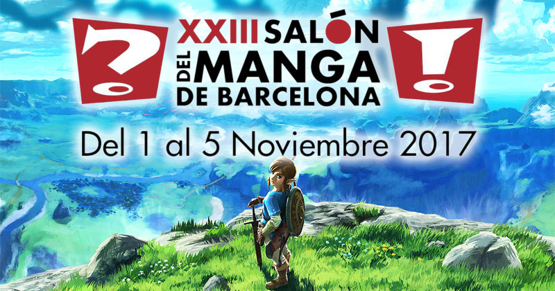 Zelda en el Salón del Manga de Barcelona