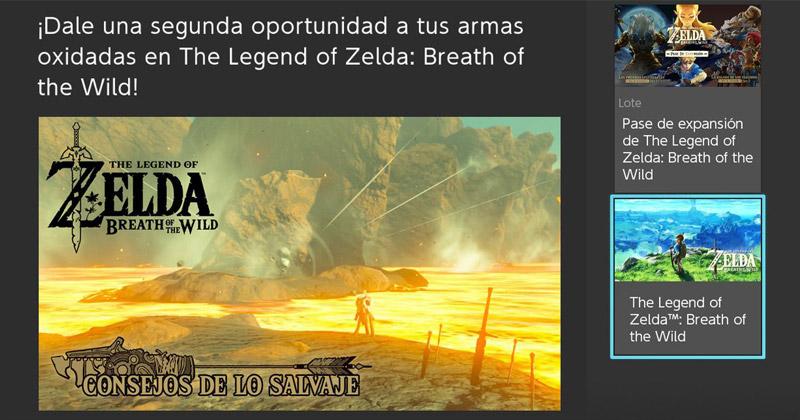 Armas Oxidadas en Breath of the Wild
