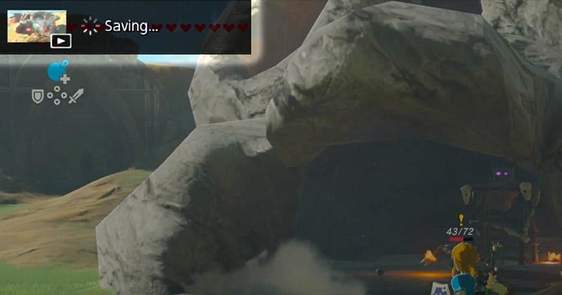 Captura vídeos de Breath of the Wild con Nintendo Switch