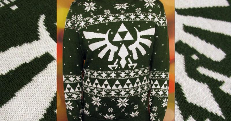 Jersey navideño de Zelda