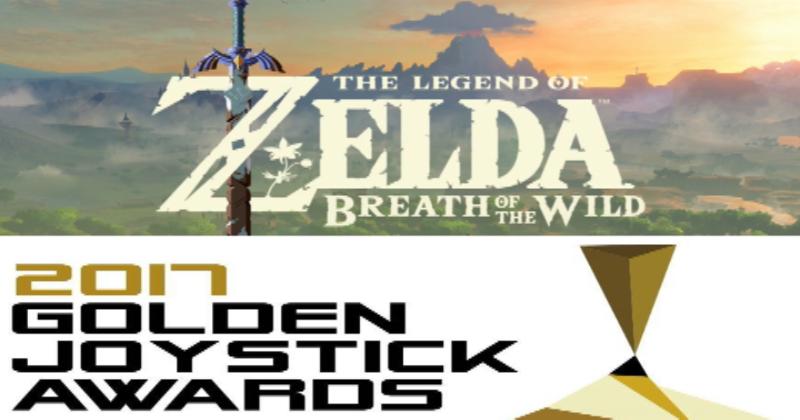 Zelda Breath of the Wild nominado para Juego del Año en los Golden Joystick Awards