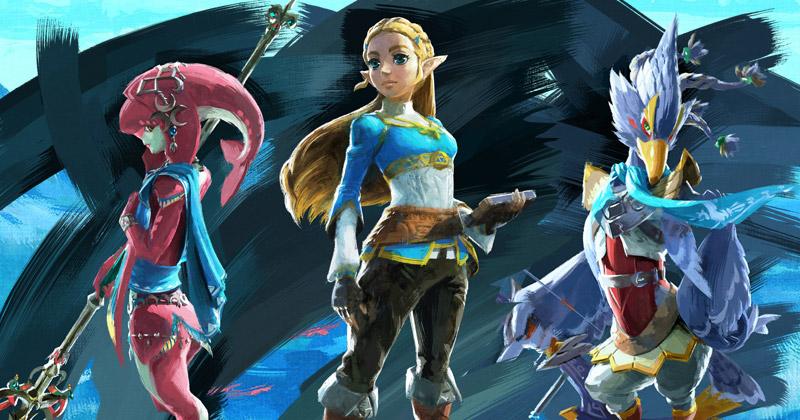 Conoce en persona a Zelda, Mipha y Revali en el del Salón del Manga