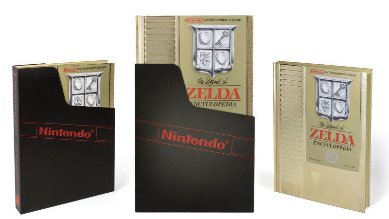 Edición Deluxe de Zelda Encyclopedia