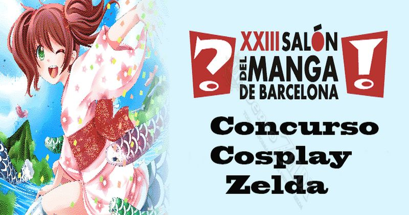 Concurso cosplay zeldero en el Salón del Manga de Barcelona