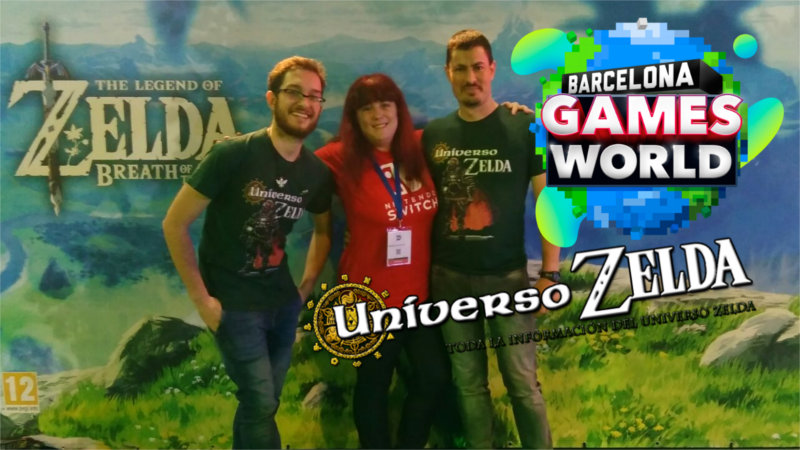 Universo Zelda en Barcelona Games World 2017