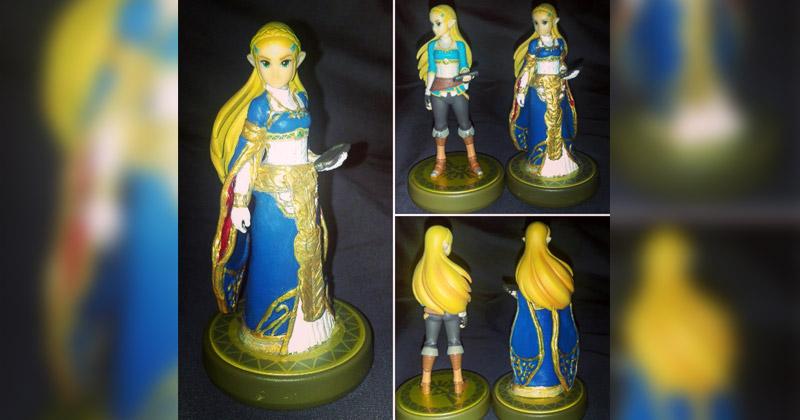 Custom Amiibo de la princesa Zelda