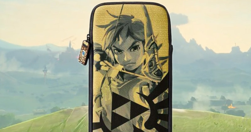 Funda excusiva japonesa para Switch
