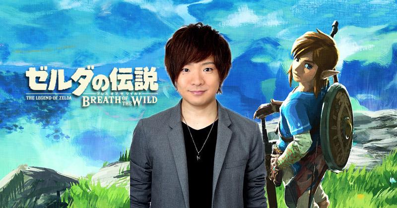 Kengo Takanashi: la voz de Link en Breath of the Wild