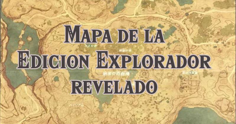 La Edición Explorador de Breath of the Wild deja ver su mapa