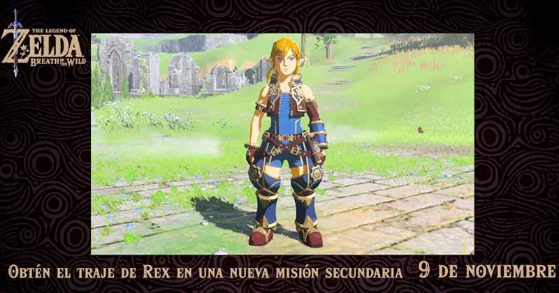 Traje de REX de Xenoblade para Breath of the Wild