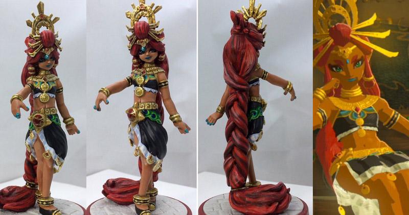 Custom Amiibo de Riju