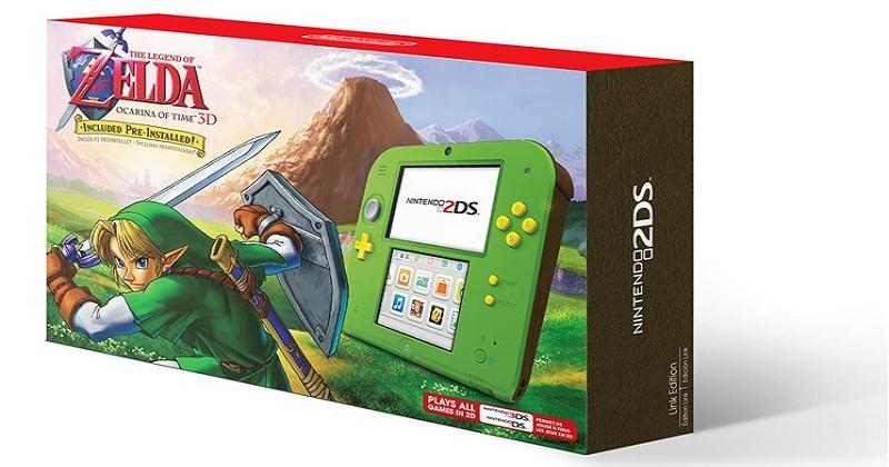 """Nuevo Pack """"Zelda Nintendo 2DS + Ocarina of Time"""" para América"""