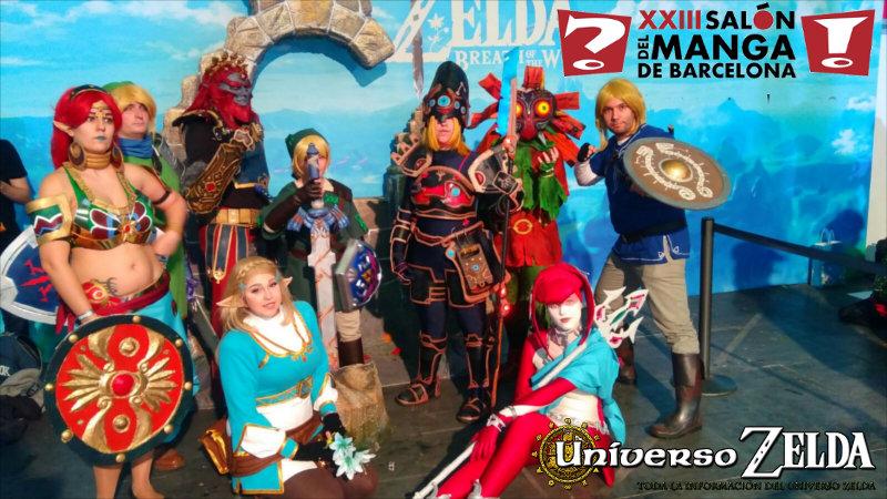 Universo Zelda en el Salón del Manga Barcelona 2017