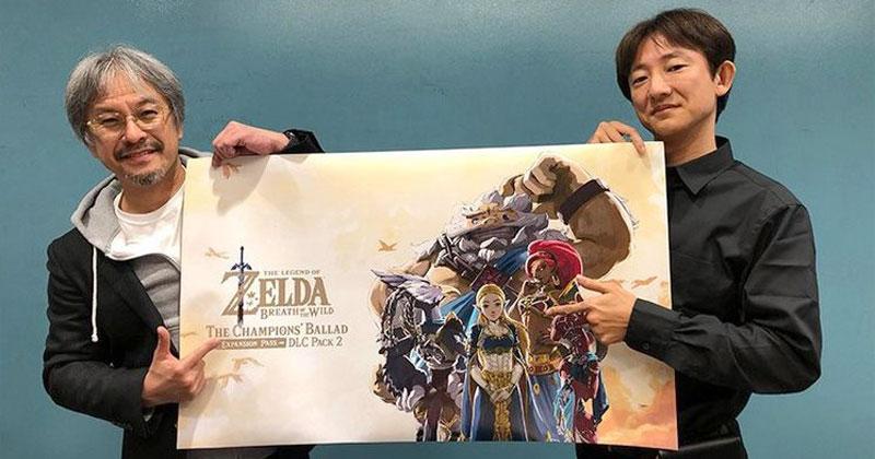 Aonuma y Fujibayashi hablan del futuro de Zelda