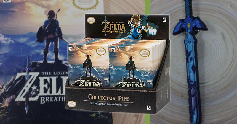 Pins de coleccionista de Breath of the Wild