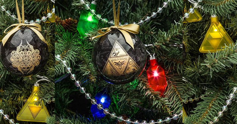 Decora la Navidad con The Legend of Zelda