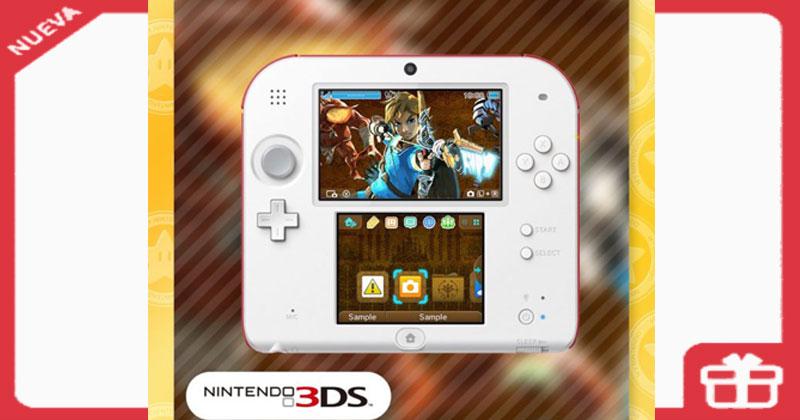 Nuevo tema para 3DS en My Nintendo
