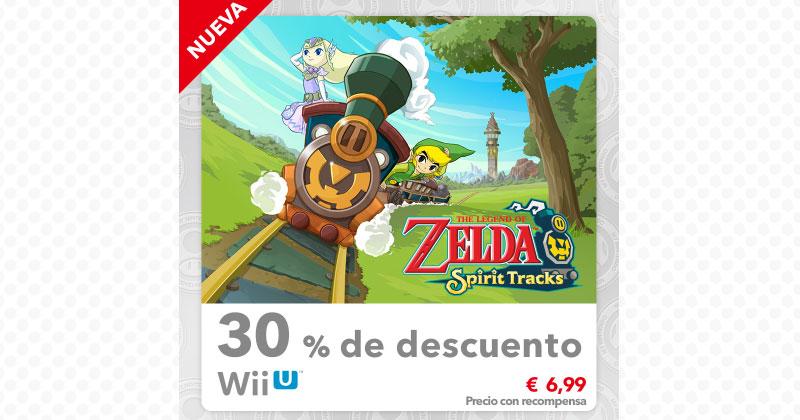 30% descuento para Spirit Tracks en My Nintendo