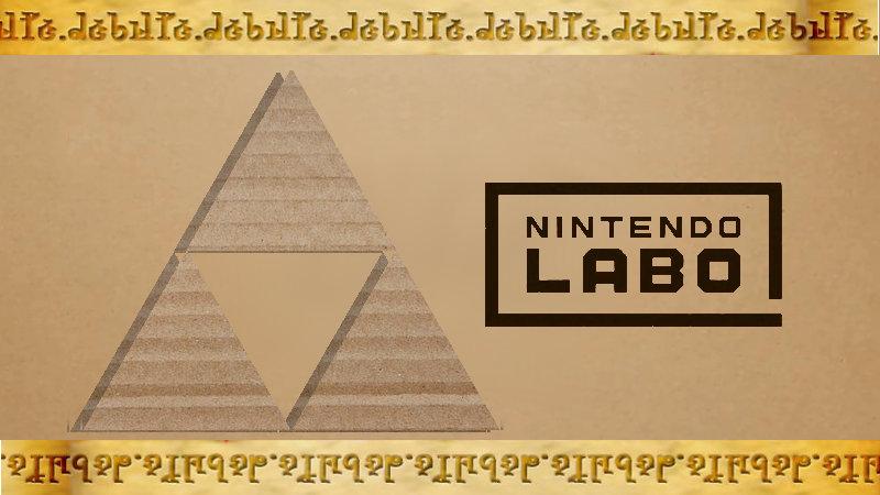 ¿Veremos The Legend of Zelda con Nintendo LABO?