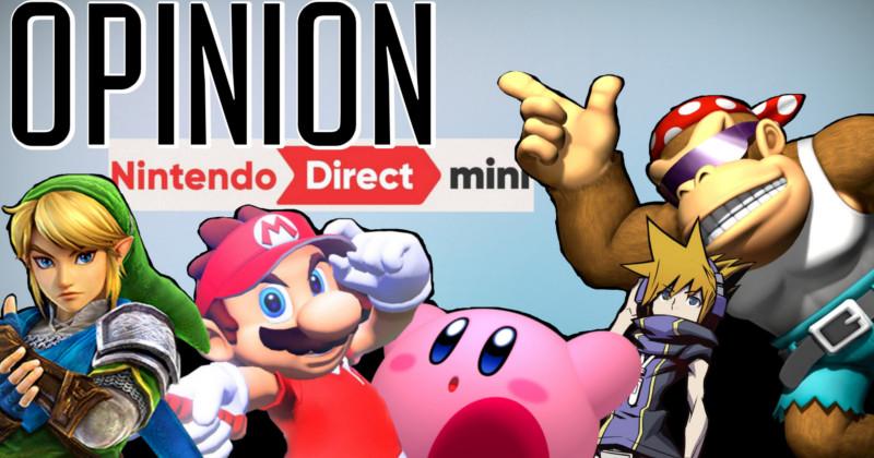 Vídeo Opinión Nintendo Direct Mini