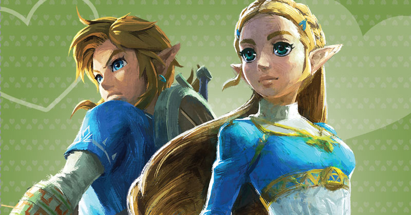 Celebra San Valentín con Zelda