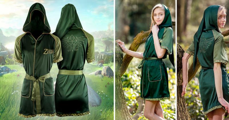 Ahora puedes sentirte de la realeza con la nueva túnica de The Legend of Zelda