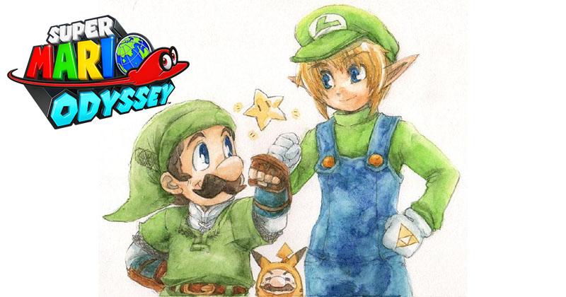 Nuevos indicios del atuendo de Link en Super Mario Odyssey