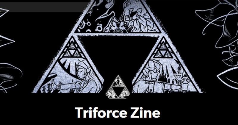 Triforce Zine: fanzine de Fan-Art
