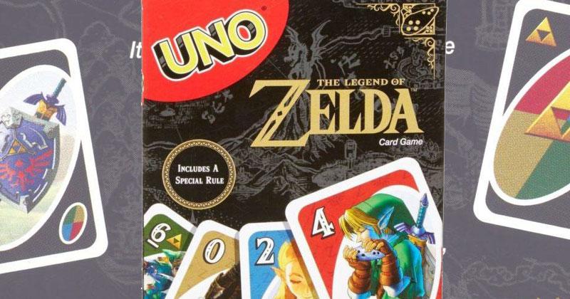 A la venta el juego de cartas UNO de Zelda