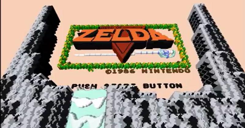 Legend of Zelda 3DNes v2