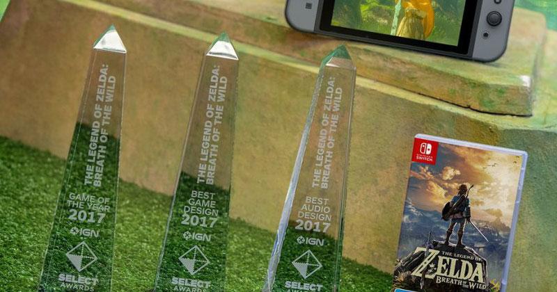 Más premios para Breath of the Wild