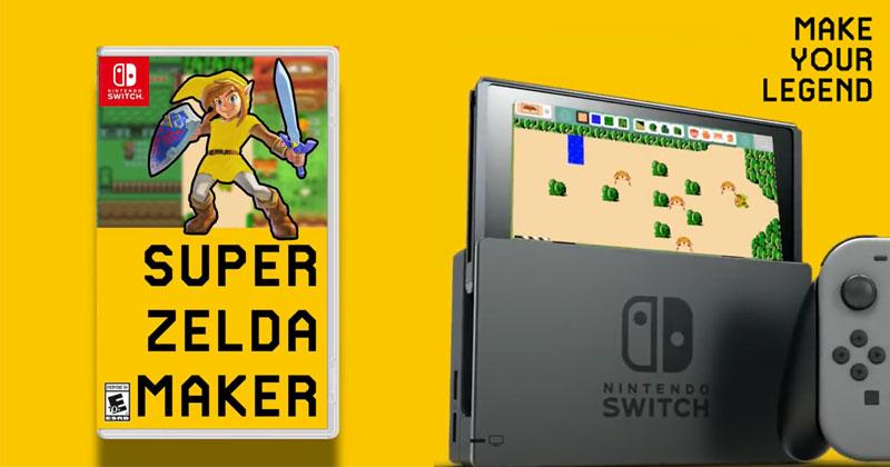 Trailer FanMade de Zelda Maker