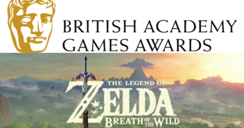 Zelda Breath of the Wild nominado a los Premios BAFTA
