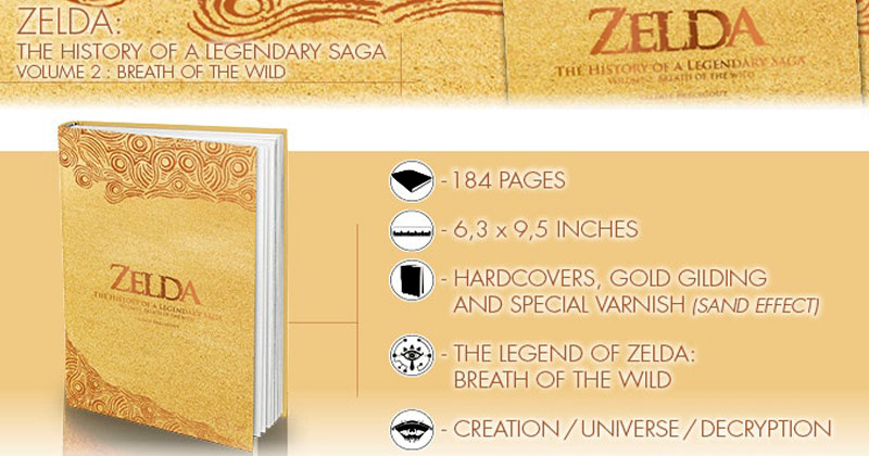 Campaña Kickstarter de libro sobre Breath of the Wild