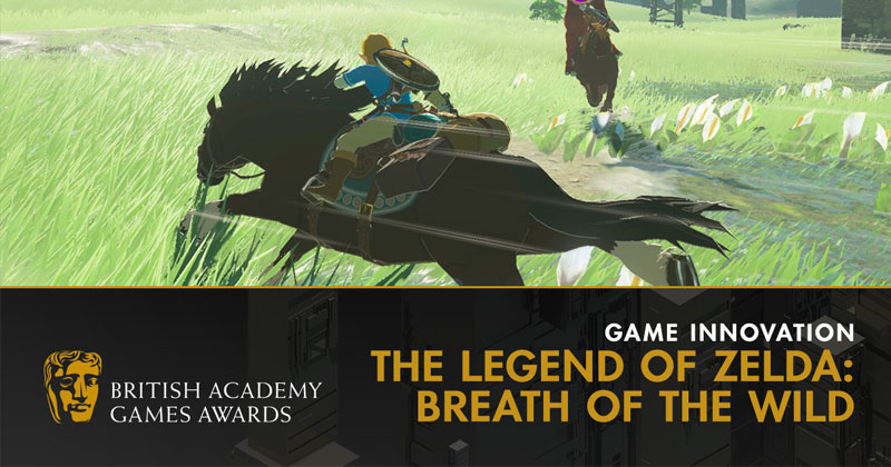 Breath of the Wild gana un premio BAFTA a la Innovación