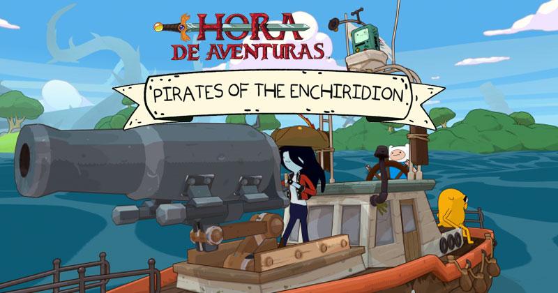 Hora de Aventuras: Piratas del Enchiridion se inspiró en The Wind Waker
