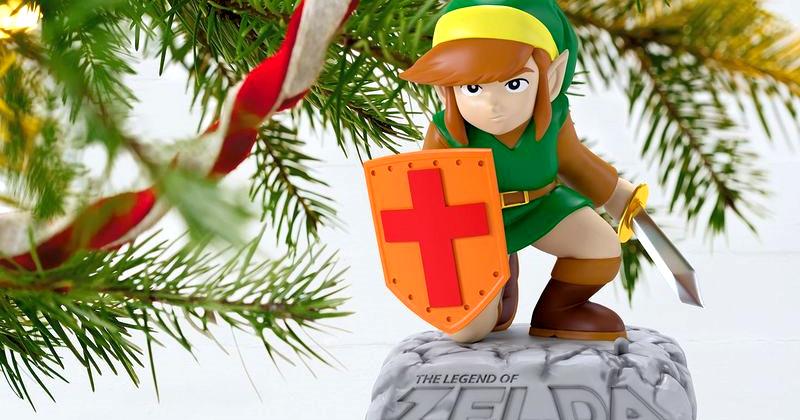 Adorno navideño de Link con música