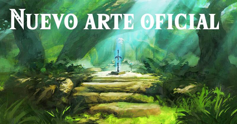Nuevo arte oficial de Breath of the Wild conmemorando su cumpleaños