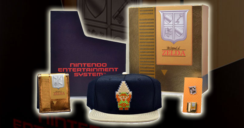 Caja de regalo de Zelda