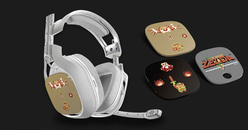 Auriculares de Zelda de Astro Gaming