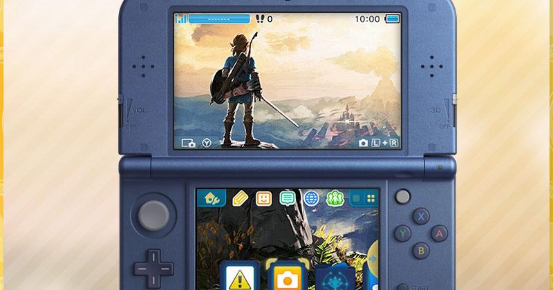 Nuevo tema My Nintendo para Nintendo 3DS