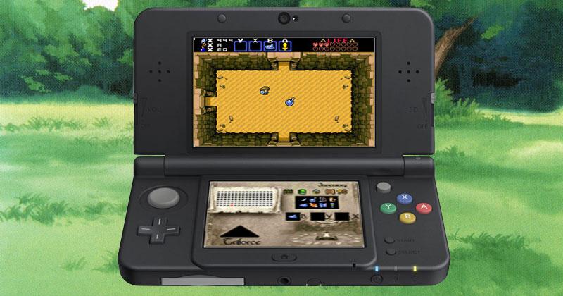 ¿Cómo sería un remake de The Legend of Zelda para 3DS?