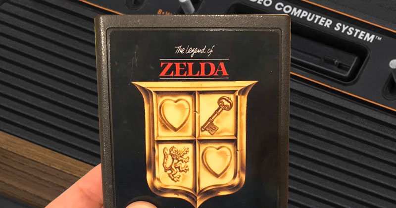 FanGame: Zelda de Atari 2600