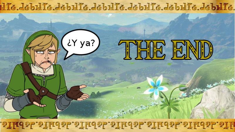 ¿Qué añadirías como contenido tras el final de un juego de Zelda?