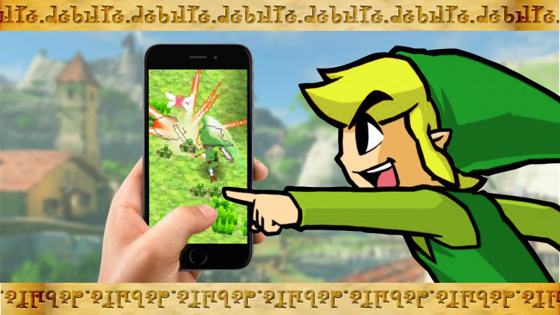 ¿Querrías un The Legend of Zelda en el móvil?